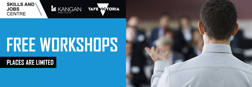 Free Workshops - Places are limited so register today >>