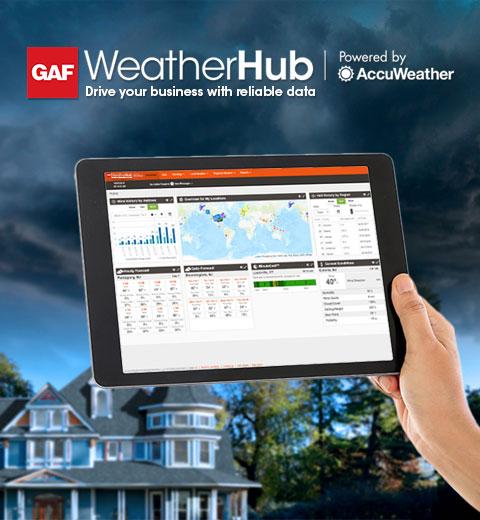 GAF WeatherHub