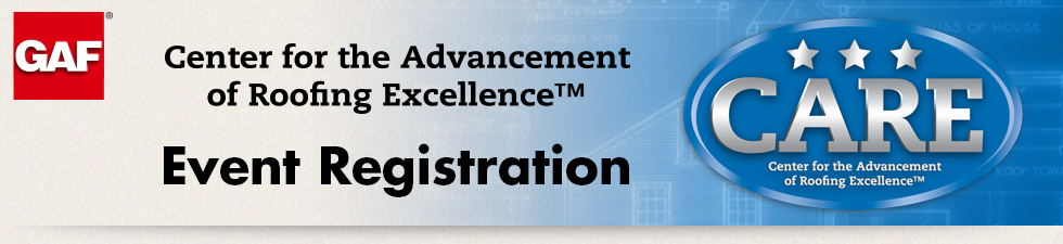 Center for the Advancement of Roofing Excellence - Excellence Expo
