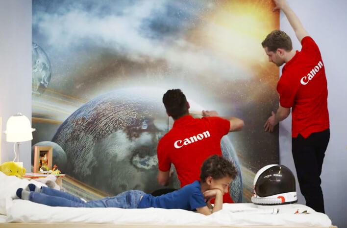 Canon   Boligindretning   Galakse-tapet