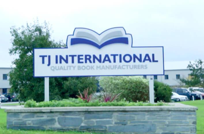 Canon   Publicering   TJ International-skilt