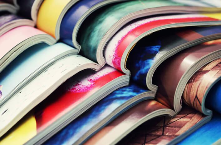 Canon   Publicering   Pakkede tidsskrifter i farver