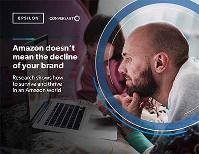 Cover: Amazon doesn't mean the decline of your brand