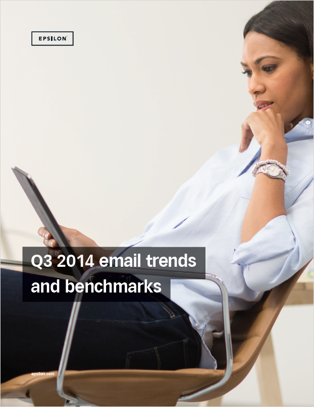 Q3 2014 Email Trends and Benchmarks Report