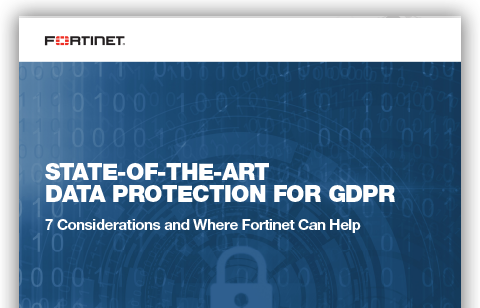 State-of-the-Art Data Protection for GDPR