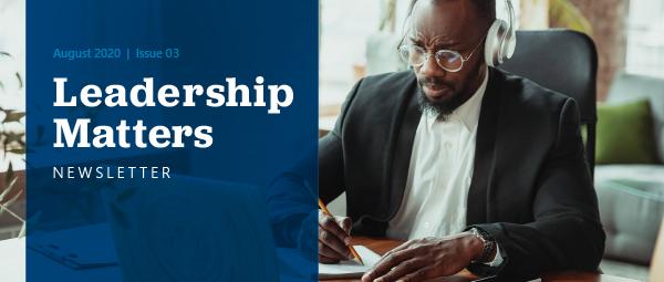 Leadership Matters August 2020