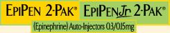 EpiPen 2-Pak® EpiPenJr 2-Pak® (Epinephrine) Auto-Injectors 0.3/0.15mg