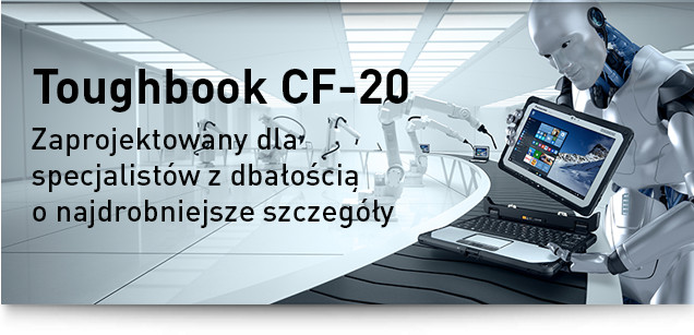 Toughbook CF-20 Built for purpose to the smallest detail