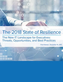 The 2018 State of Resilience Report