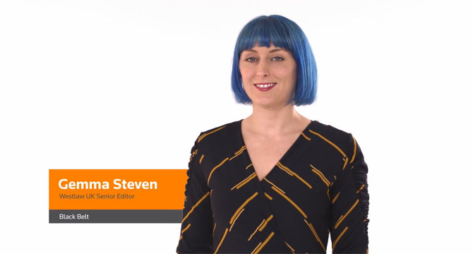 Scots Law Resources on Westlaw UK: Gemma's Story