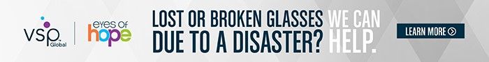 Lost or broken glasses due to a disaster? VSP can help