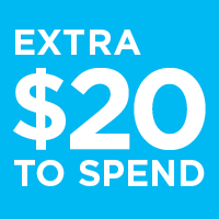 Get an Extra $20 to spend of featured frame brands