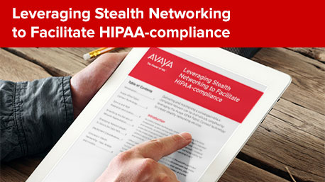 Leveraging Stealth Networking to Facilitate HIPAA-compliance