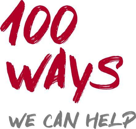 100 Ways We Can Help