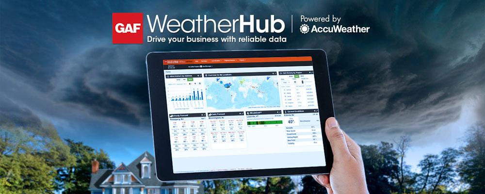 GAF WeatherHub Webinar