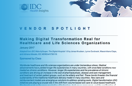 IDC Vendor Spotlight: Cisco Healthcare