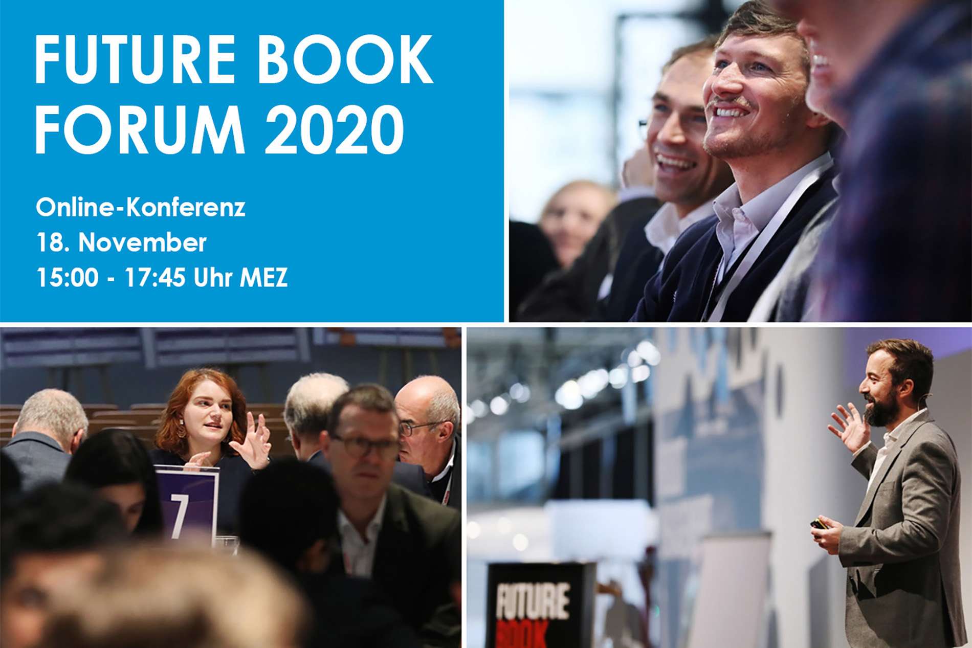 Future Book Forum 2020 - 18. November 2020