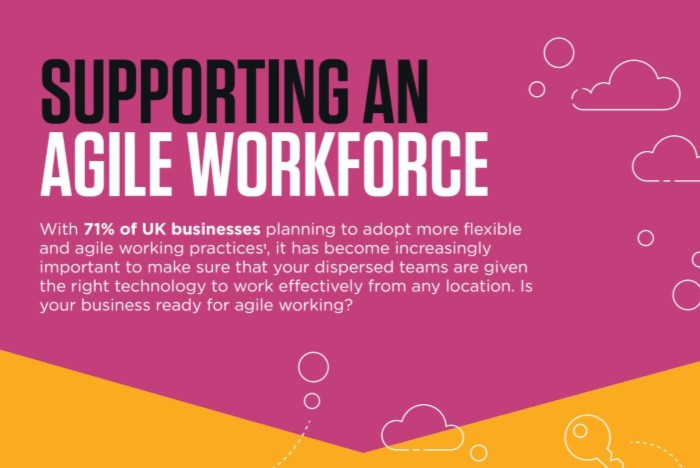 Canon UK - Agile Working infographic