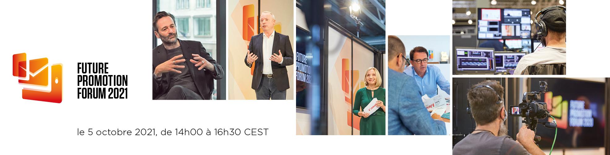Future Promotion Forum 2021 - le 5 octobre 2021