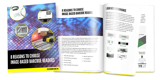 8 Reasons to Choose Image-Based Barcode Readers Whitepaper