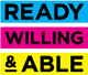 Ready, Willing & Able logo