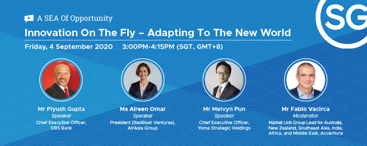 Webinar: Innovation On The Fly – Adapting To The New World