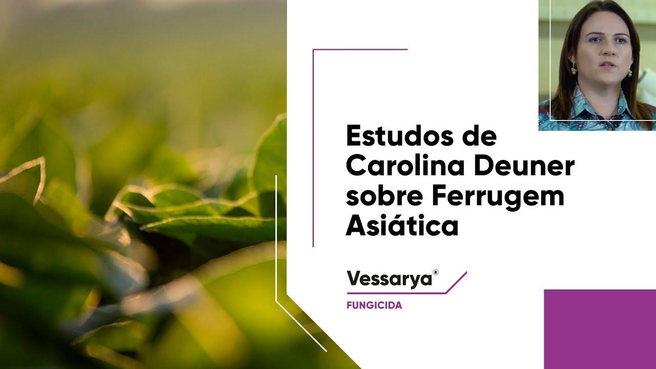 Dra. Carolina Deuner aponta estratégias de controle da Ferrugem Asiática