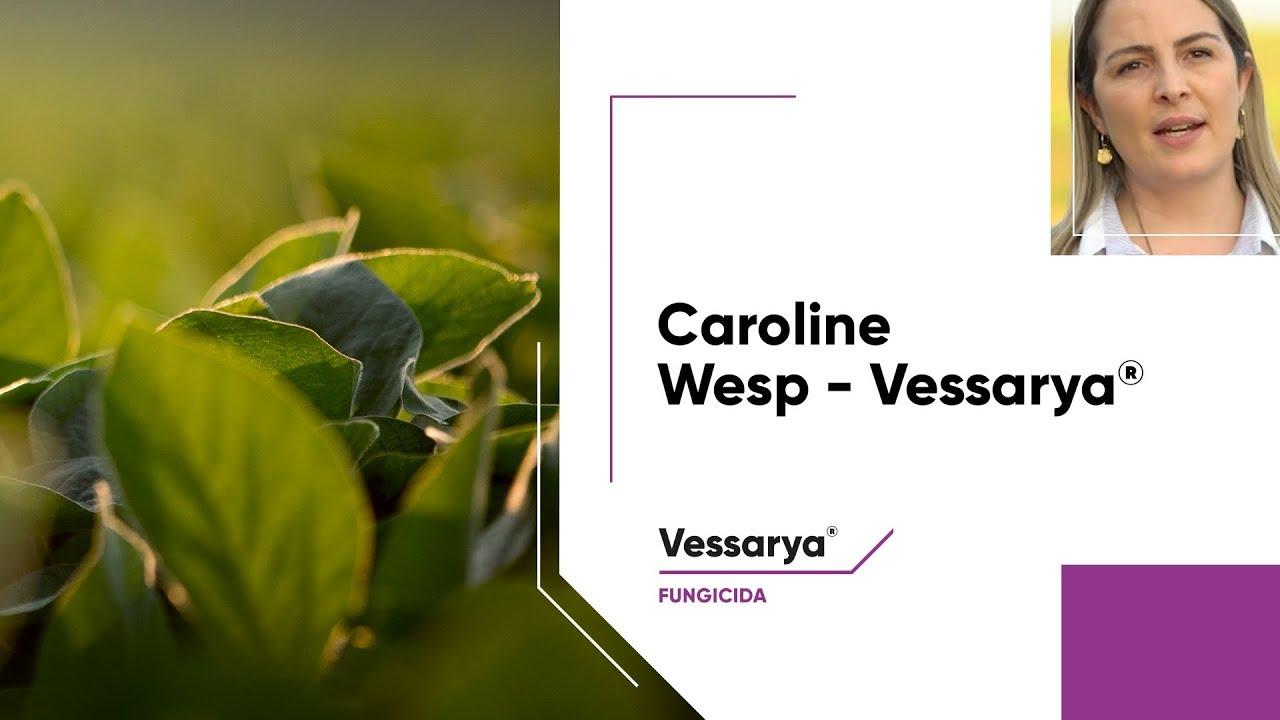Dra. Caroline Wesp exalta o desempenho do fungicida Vessarya®