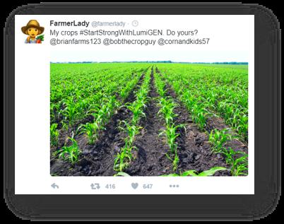 sample field social media post