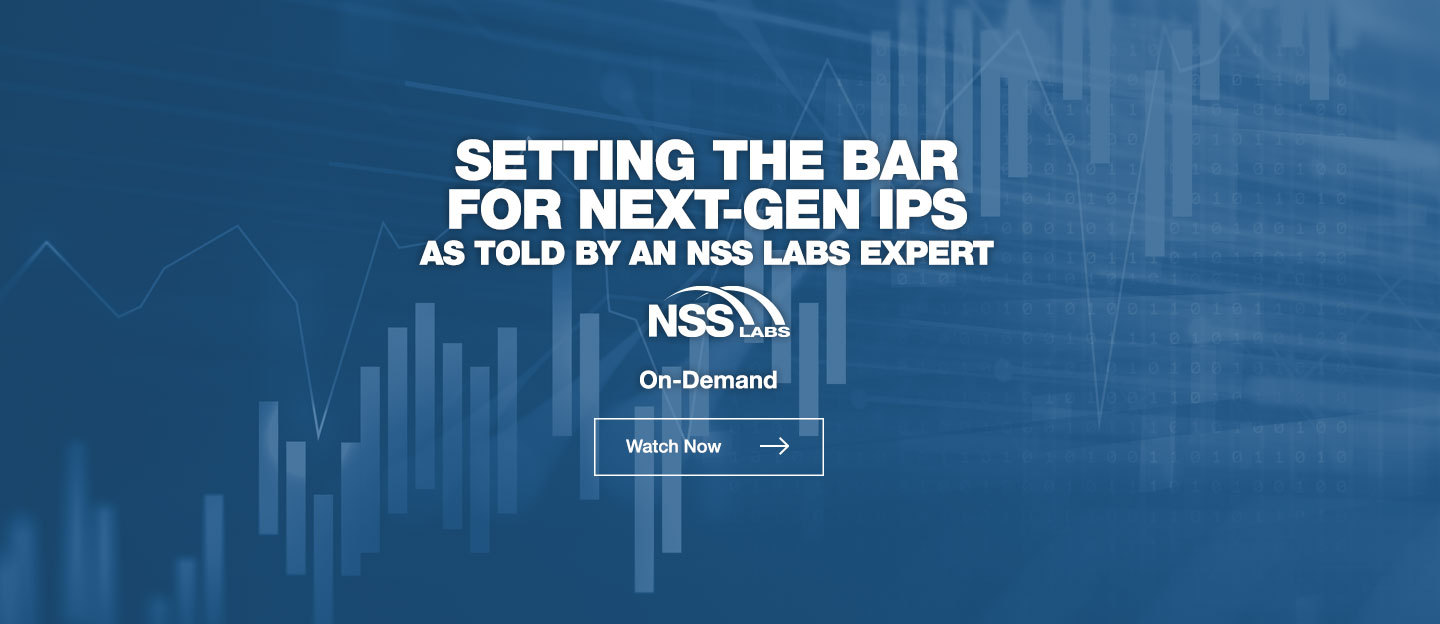 SETTING THE BAR FOR NEXT-GEN IPS