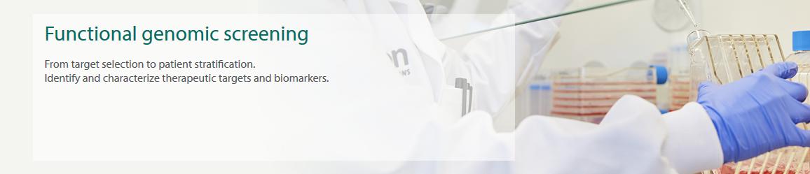 Functional genomic screening - header image