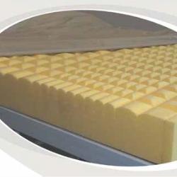 Close up of foam Invapress S2000 mattress
