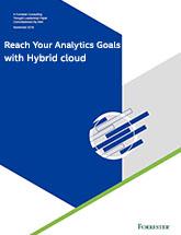 Reaching Analytics Goals with Hybrid Cloud