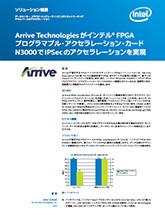 Arrive Technologiesがインテル® FPGA プログラマブル・アクセラレーション・カード N3000でIPSecのアクセラレーションを実現