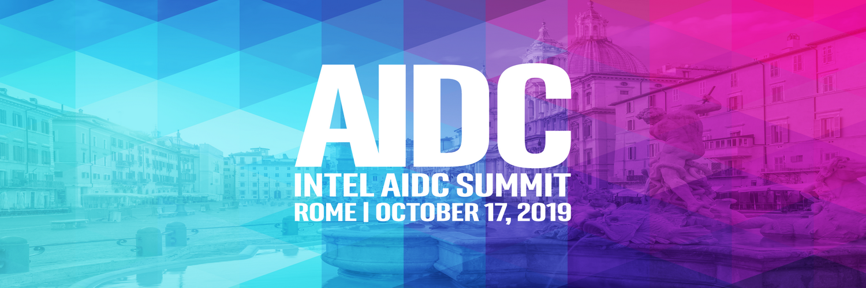 Intel AIDC Summit Rome - October 17, 2019