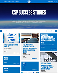 CSP success stories