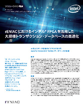 rENIAC におけるインテル® FPGA を活用した大規模トランザクション・データベースの高速化