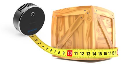 Object Dimensioning with Intel® RealSense™ DWS and LiDAR Camera L515