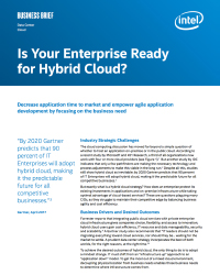 Is Your Enterprise Ready for Hybrid Cloud