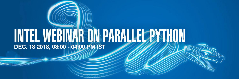 Intel Webinar on Parallel Python
