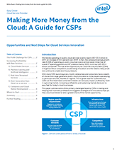 Opportunities and Next Steps for Cloud Services Innovation