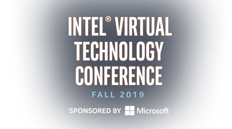 Intel® Virtual Technology Conference
