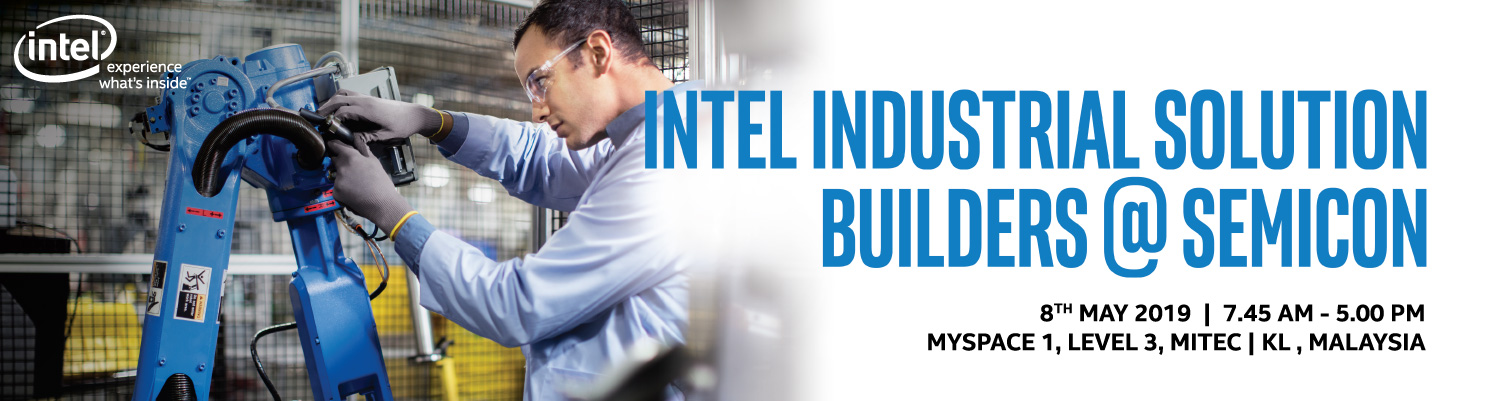 Intel Industrial Solution Builders @ SEMICON