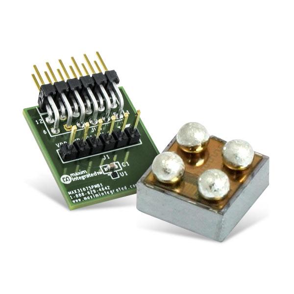 Maxim Integrated MAX31875 低功耗I2C温度传感器