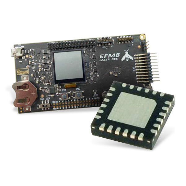 Silicon Labs EFM8 位微控制器开发板和工具包