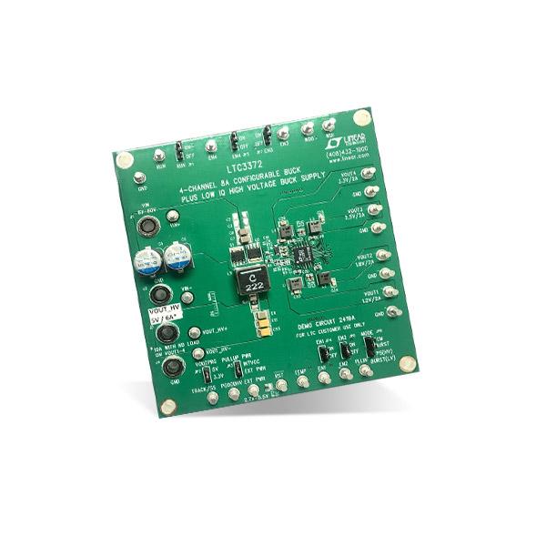 Analog Devices电源管理IC开发工具LTC3372EUK演示版