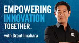 Empowering Innovation Together with Grant Imahara