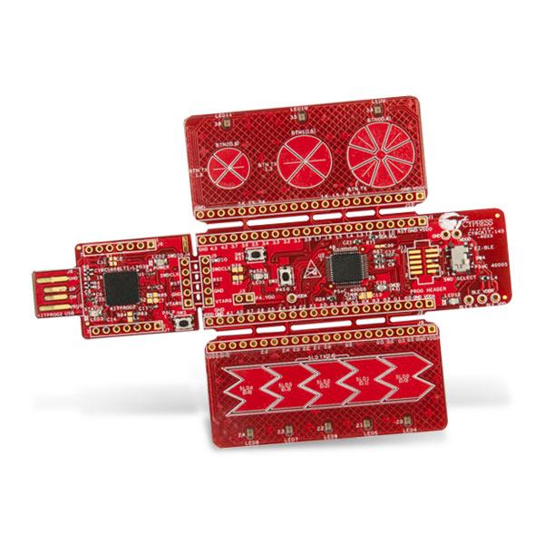 >Cypress PSoC® 4000S CapSense原型开发套件(Part Number:CY8CKIT-145-40xx)