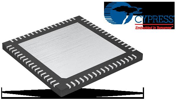 Cypress HX3 USB 3.0 Hub Controllers