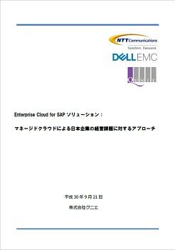 画像:SAPシステム向けマネージドサービス